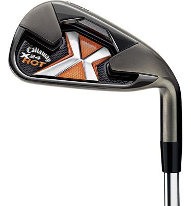 Callaway x-24 hot golf irons review.